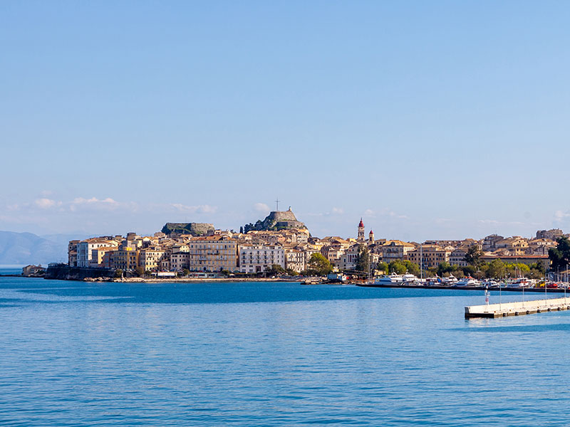 Corfu Old Town - Old Port & Old Fortress