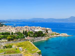 Corfu Old Town - Spianada Square & Old Fortress
