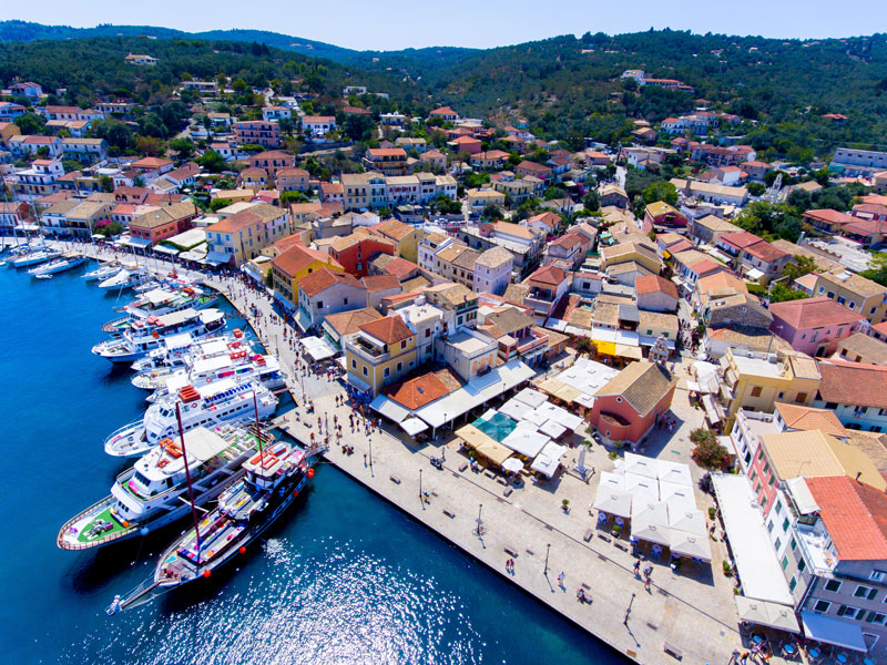 Gaios port at Paxos island