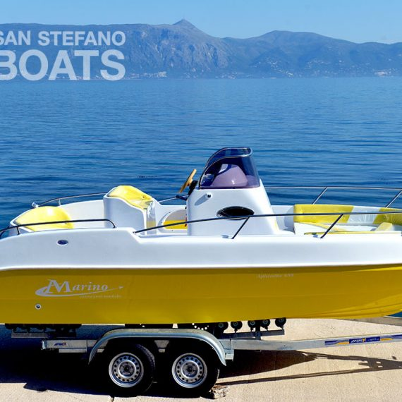 Rising Star 175 HP Luxury 12 Pax - San Stefano Boats - Corfu Boat Hire
