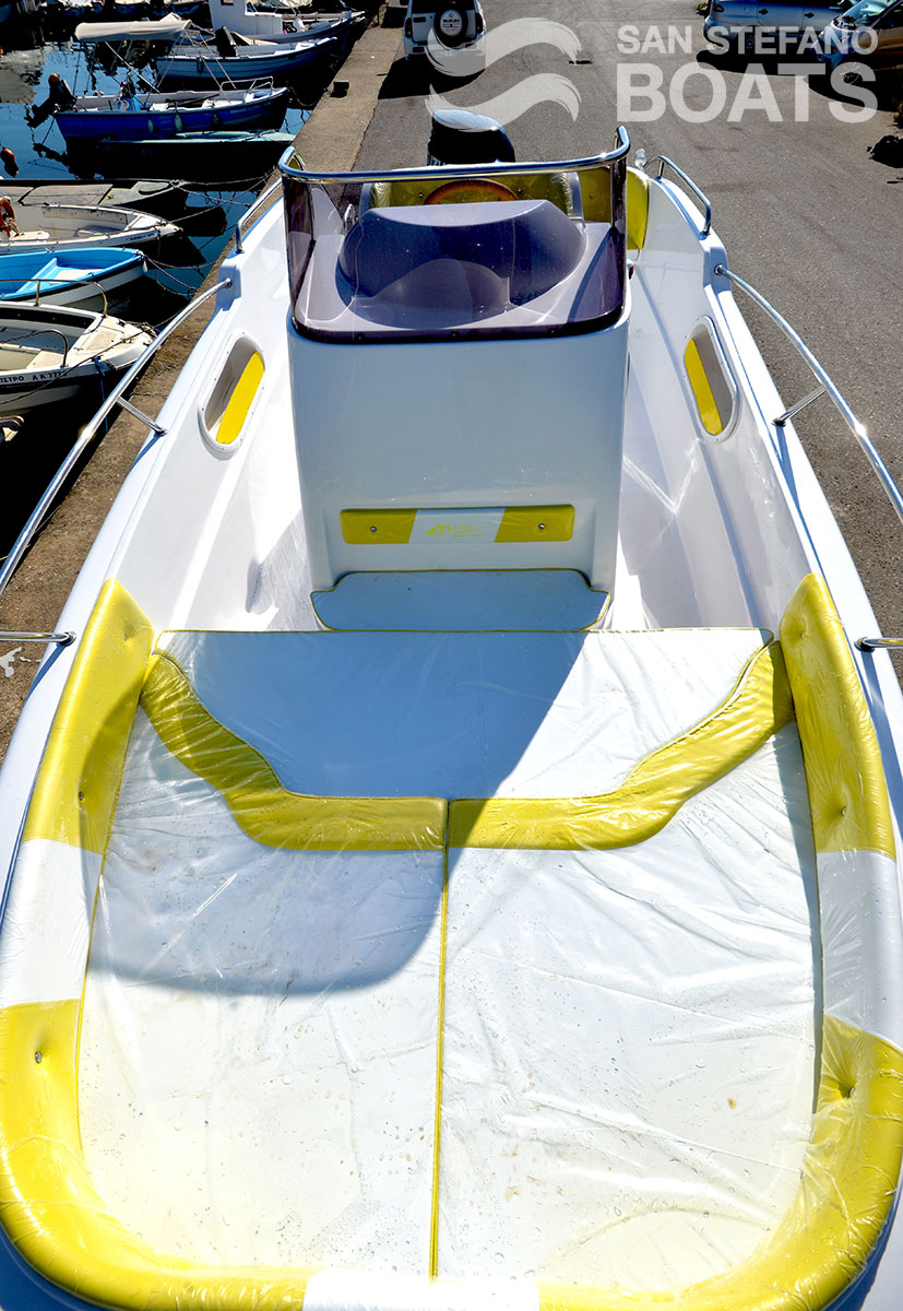 Rising Star 175 HP Luxury 11 Pax - San Stefano Boats - Corfu Boat Hire